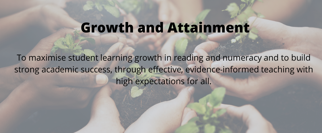 growth and attainment poster