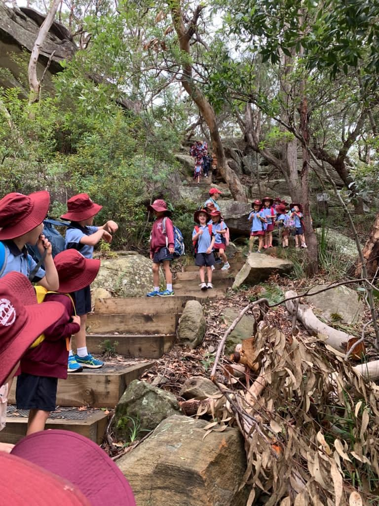 Year one Manly Dam excursion